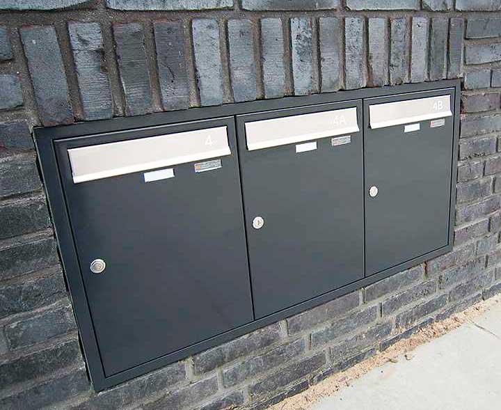 Inbouw Postkasten van Ecolop