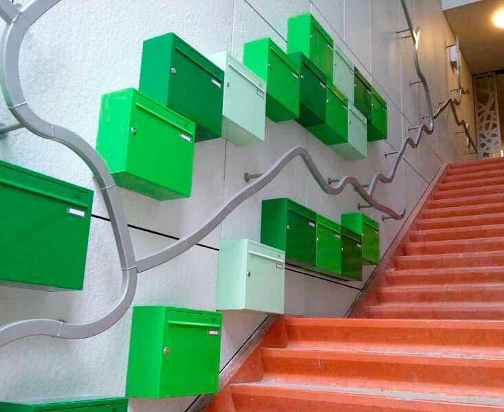 Opbouw Postkasten van Ecolop